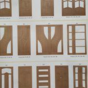 Двері міжкімнатні дерев'яні.