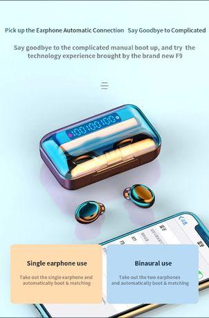 auriculares , fones de ouvido , bluetooth 5.0 true wireless earbuds 5.