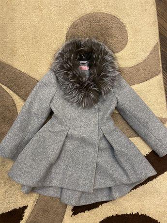 Пальто для девочки детское mililook 98-104