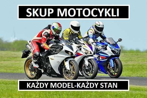 Skup Motocykli Sportowe/Crossy/Quady/Jawa/Motorynk/Wsk/Simson/Shl