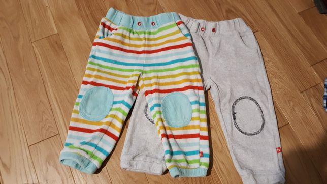 2 szt. Spodnie dresowe-dresy r. 80