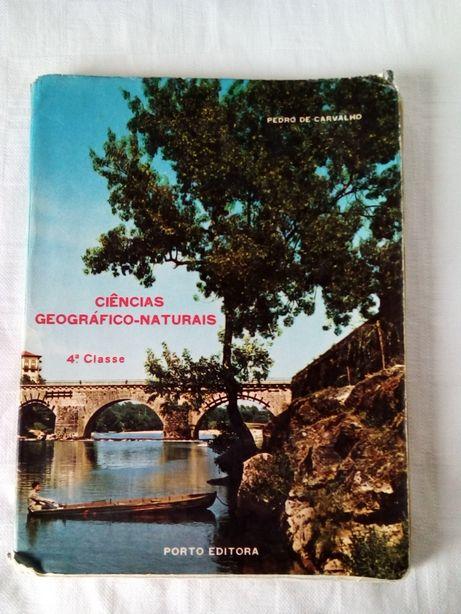 Livros de estudo nas Escolas Primárias nos anos 60