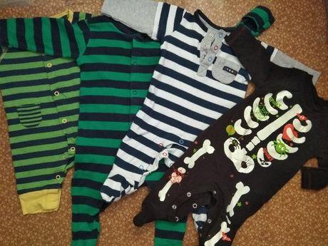 одежда новорожденным Секонд Хенд second боди человечик слип