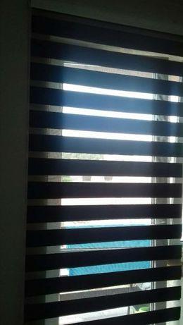 Rolety dzień noc w kasecie balkonowa 95x230 do ściany