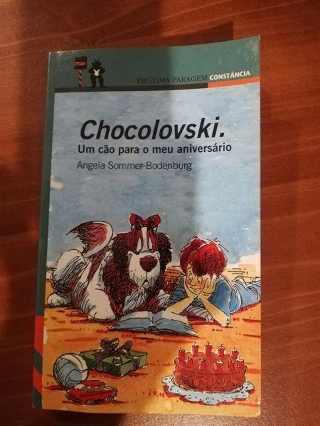 Chocolovski.Um Cão para o meu aniversário