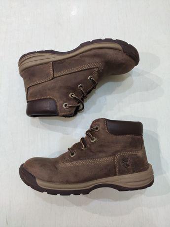Timberland демисезонные кожаные ботинки 27 размер