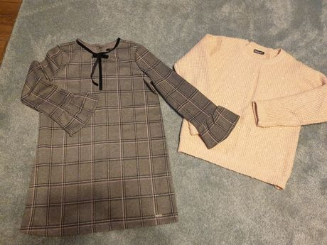 Sukienka MOHITO plus sweterek