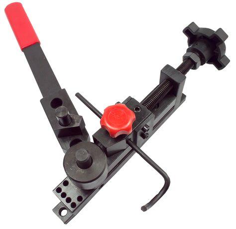 Giętarka do prętów strzemion drutu 30x2mm rur 8mm (WAR23)