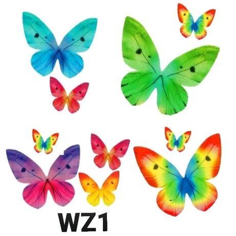 Motylki waflowe