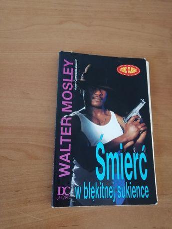 Książka śmierć w błękitnej sukience Walter Mosley