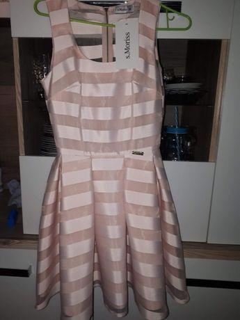 Piękna sukienka XS studniówka/wesele
