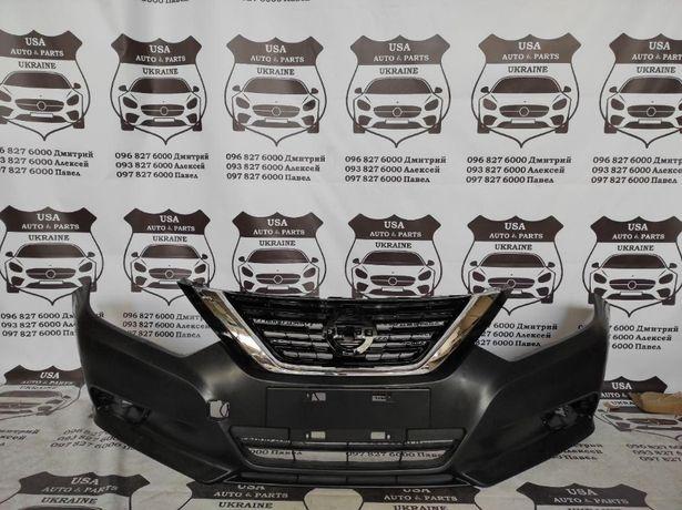 Бампер Nissan Altima 16-19 Решетка Фары Капот Крылья Альтима