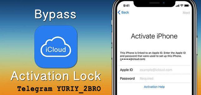 iPhone - iPad снятие iCloud Bypass/обход, Apple ID разблокировка.