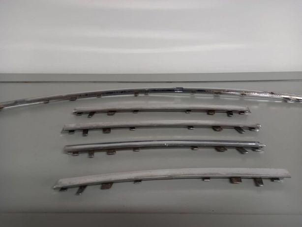 Накладки хром передняя решетка и задний бампер Mercedes ML164