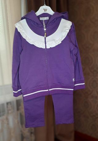 Детская одежда,  спортивный  костюм на девочку Monna Rosa Milano