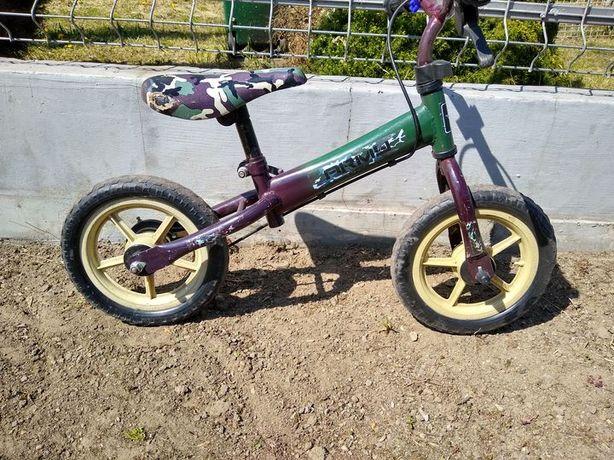 Rowerek rower biegowy biegówka dla chłopca koła piankowe EVA
