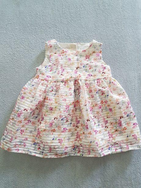 Nowa sukienka sukieneczka F&F kwiaty