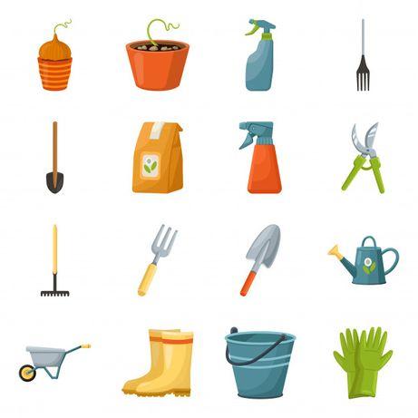 Serviços de jardinagem / limpeza de terrenos