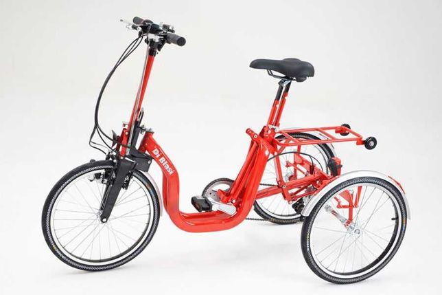 triciclo adulto dobrável/triciclo dobrável elétrico