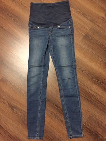 Spodnie ciążowe H&M mama r. S