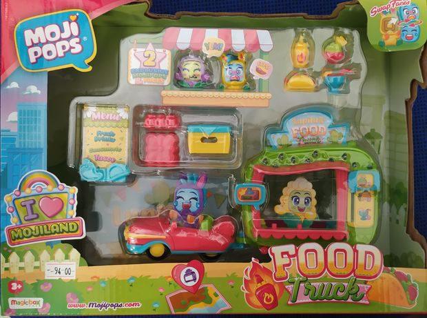 Moji pops party food truck