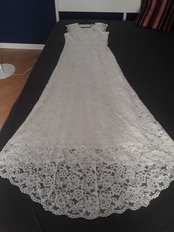 Koronkowa suknia ślubna boho NOWA!