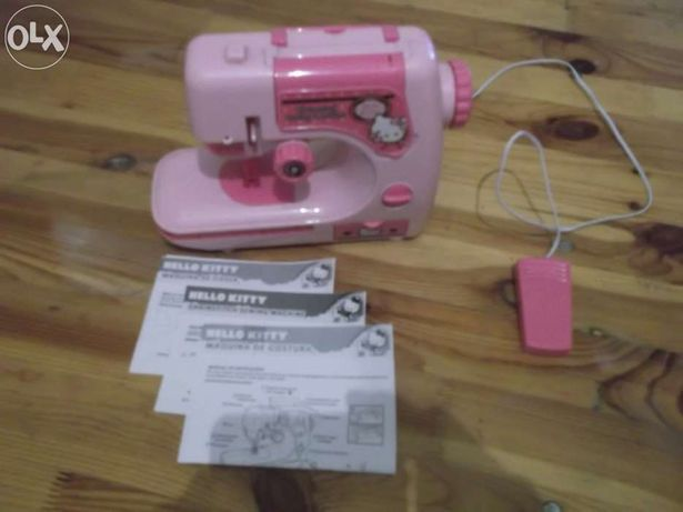 Maquina de costura da hello kitty