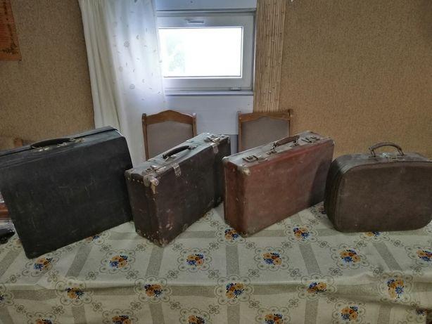 Продам ретро, старинные, антиквариат чемоданы