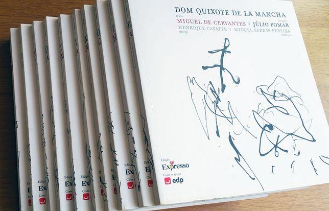 """Edição Especial """"D.Quixote de La Mancha"""", Pinturas de Júlio Pomar"""