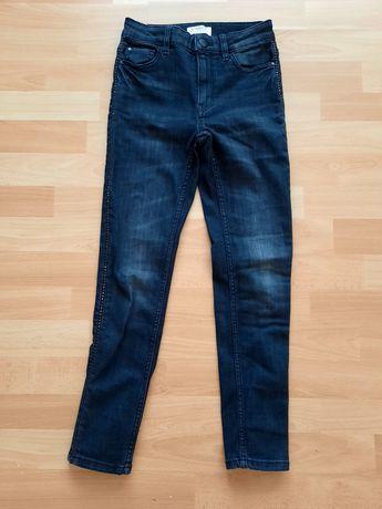 Czarne jeansy Lindex