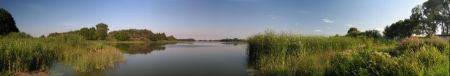 Atrakcyjnie położona działka rekreacyjna nad rzeką Wełną, domek, media