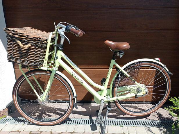 Rower miejski Gazelle Miss Grace limonka