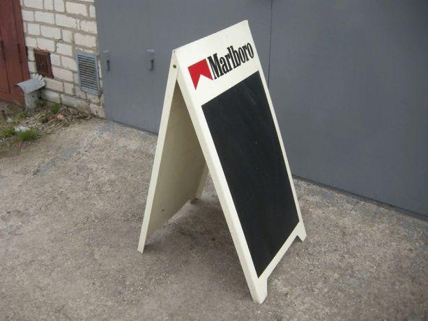 Выносной рекламный щит, штендер Marlboro, оригинальный, 1996г.