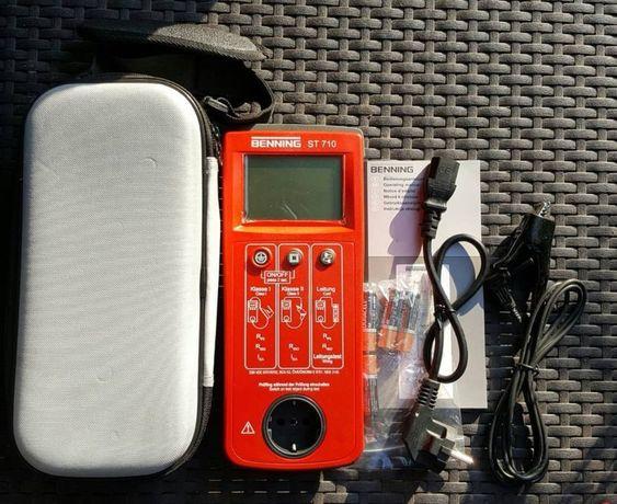 Miernik tester urządzeń Benning ST710