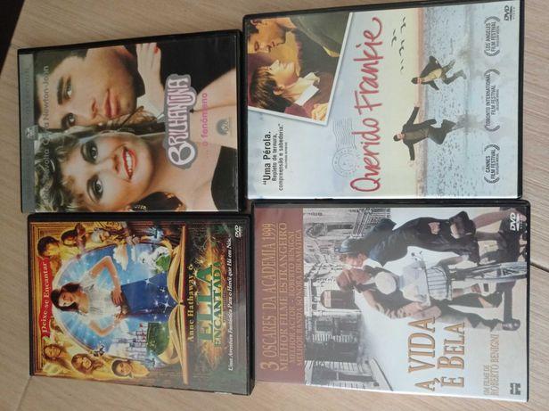 DVDs vários Usados