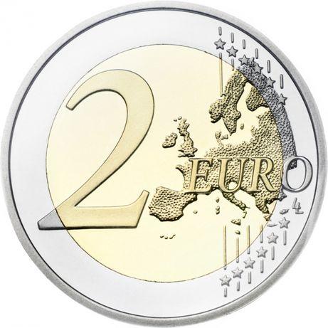 Moedas 2€ comemorativas trocas