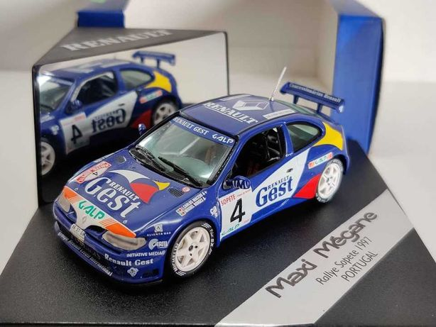 Miniatura 1/43 WRC - Renault Mégane Maxi - Vitesse - Rally Sopete 1997