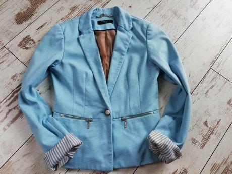 Reserved marynarka żakiet niebieski