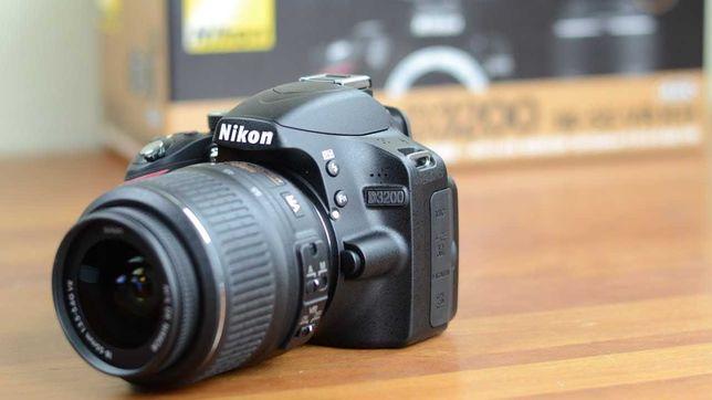 Nikon D3200 + Lente 18-55mm + Caixa de transporte e Carregador
