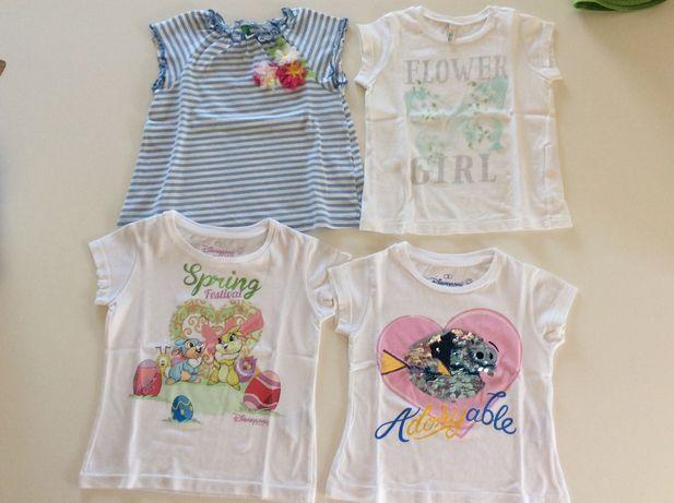 Lote roupa verão menina 2 anos