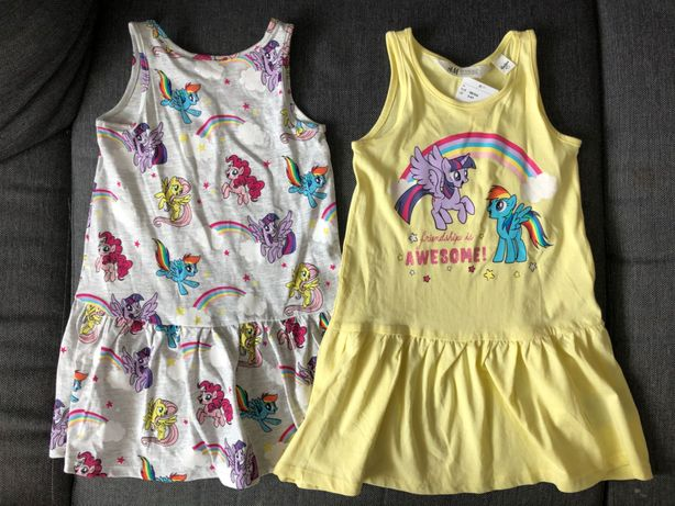 Hm 2x nowa sukienka Pony 98/104