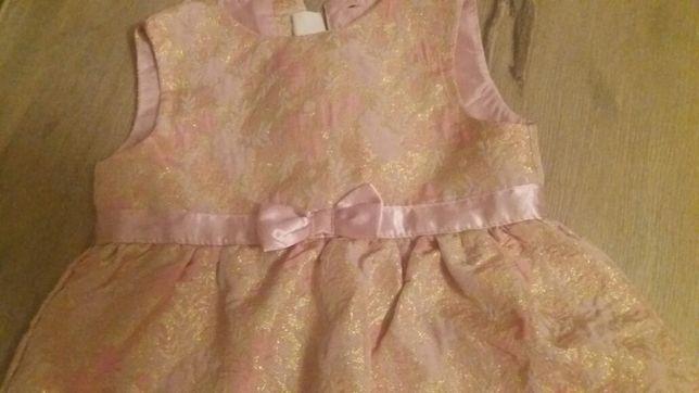 Sukieneczka wizytowa h&m 92
