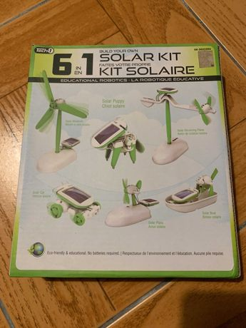 Robot Educativo Kit Solar 6 em 1