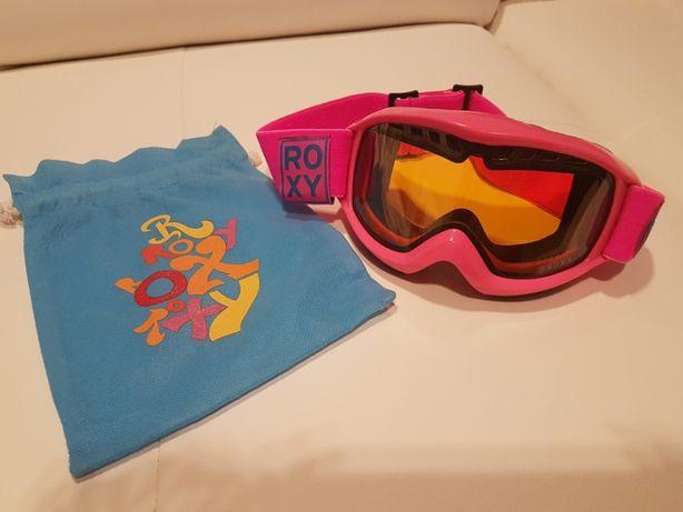 Gogle narciarskie snowboard ROXY PINK