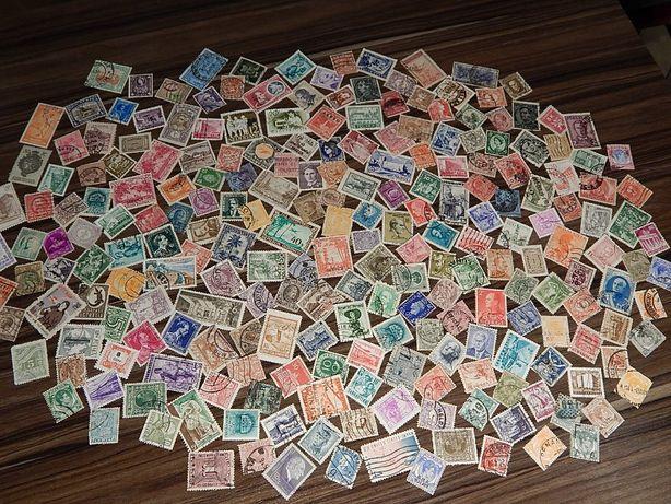 Старинные почтовые марки разных стран мира 227 шт.