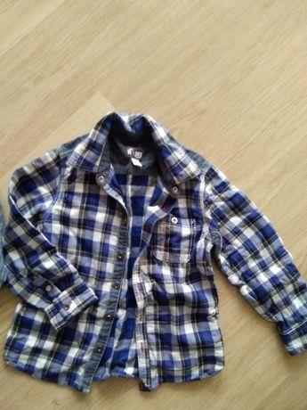 Шикарная рубашка Чико 3-5 лет идеальное качество