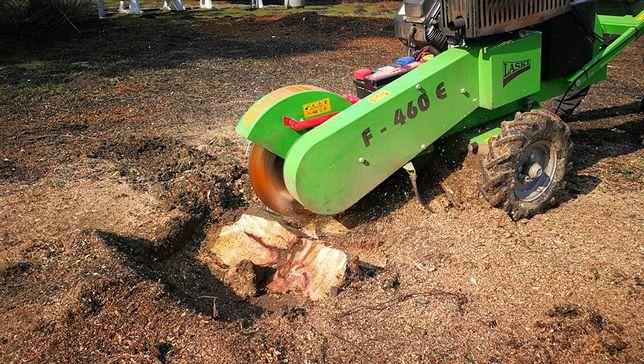 Usuwanie / frezowanie pni / usługi rębakiem / Przycinanie Drzew / wyci