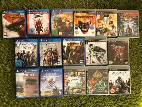 PS3, PS4 игры новые и б/у (dmc, shenmue, twisted metal и др)