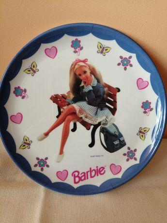 Talerz - Barbie- Mattel - Vintage