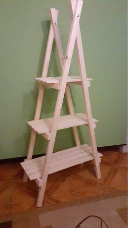 Regał drewniany